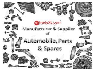 Automobile, Parts & Spares Manufacturers, Suppliers & Exporters | Auto Parts