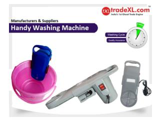 Handy Washing Machine Manufacturer, Supplier & Exporter in India | TradeXL