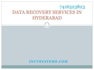 Data recovery services Hyderabad at low cost