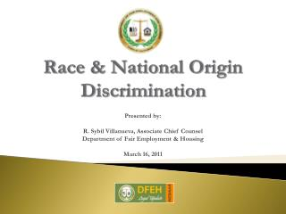 Race  National Origin Discrimination