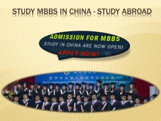 MBBS from Shihezi Medical University China