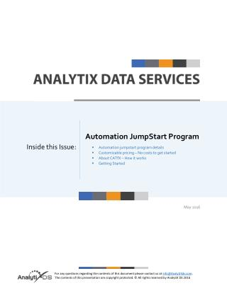 Automation Jumpstart Program