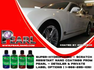 The Professional Car Coating with  No Mess, No Problem - Pearl Nano Coatings