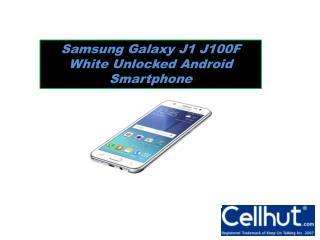 Samsung Galaxy J1 J100F White Unlocked