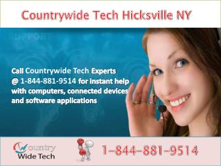 Countrywide Tech? Hicksville NY