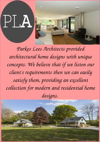Architects Services in Cornwall