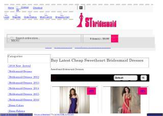 Cheap Sweetheart Bridesmaid Dresses Under 100