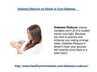 Diabetes Reducer Cure Diabetes Naturally