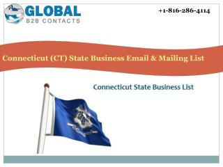 Connecticut State Business Email & Mailing List