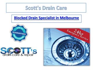 Scottsdraincare - Plumbing Services in Carlton