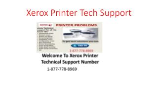 1877-778-8969 Xerox Printer Support number