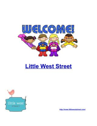 Baby quilt - Little West Street