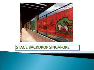 The Reasons Why Everyone Loves Stage Backdrops