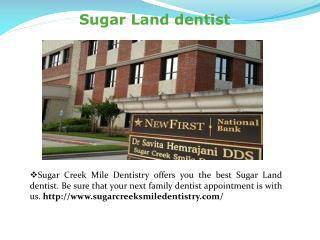 Sugar Land dentist