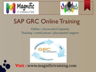 SAP GRC 10.1 ONLINE TRAINING USA|SINGAPORE|UK
