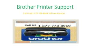 1877-778-8969 Brother Printer Support  phone number