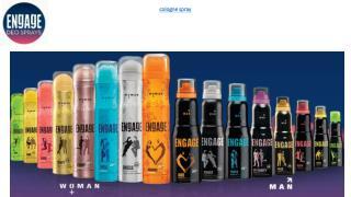 Combat Body Odor With Engage Deodorants