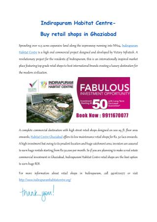 Commercial spaces in Ghaziabad