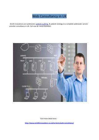 Web Consultancy in UK