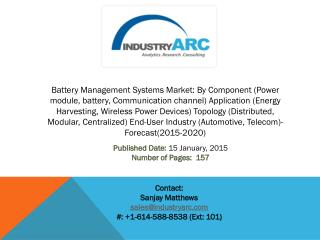 battery management system, battery management market, battery management, innovative battery technology, battery market