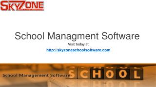 Top School Management Software-School ERP-Best School Software 2016