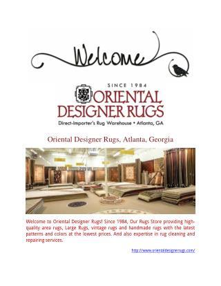 Rug Cleaning & Restoration Service   OrientalDesignerRugs.com