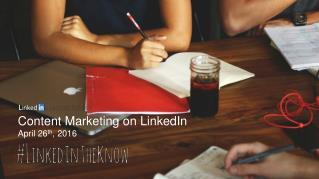 Content Marketing on LinkedIn