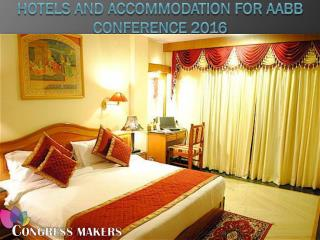 Hotels and Accommodation For AABB Conference 2016