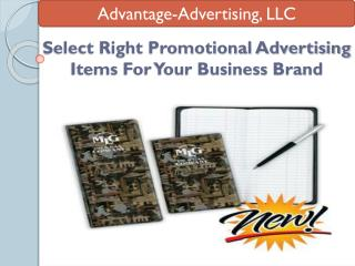 Select Right Promotional Advertising Items For Your Business Brand