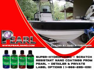 Wheel and Marine Ceramic Coating of Pearl Products