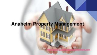 Anaheim Property Management