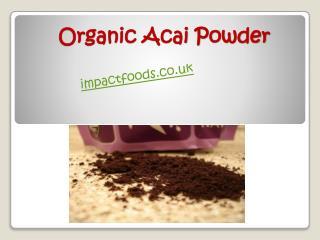 Organic Acai Powder - Impact Foods