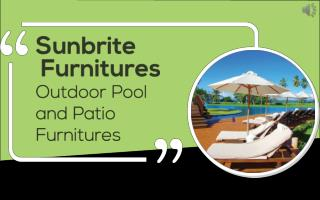 Outdoor Condo Patio Furniture | Sunbrite Outdoor Furniture