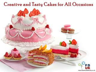 Creative and Tasty Cakes for All Occasions