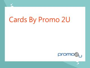 Cards by promo 2U