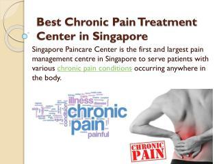 Best Chronic Pain Treatment Center in Singapore