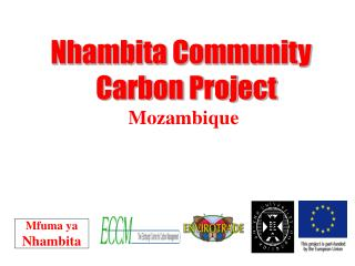 Nhambita Community   Carbon Project Mozambique
