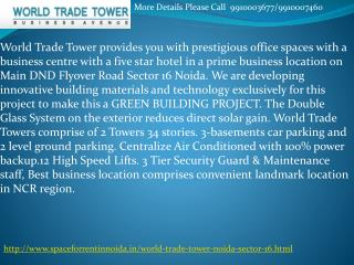 trade tower noida sector 16, 9910003677