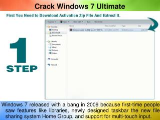 Crack Windows 7 Ultimate