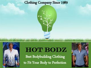 Bodybuilding Clothing | Fitness Clothing for Men