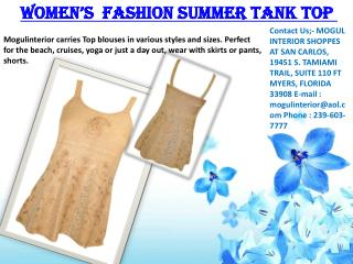 Women's  Fashion Summer Tank Top