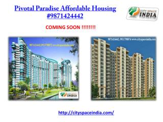 Pivotal Paradise Affordable Housing #9871424442