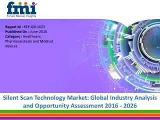Silent Scan Technology Market to expand at a CAGR of 5.4%, by 2026