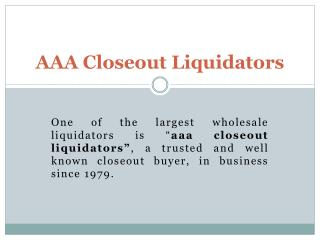 Overstock Clearance|Wholesale Liquidators|Closeout Liquidators