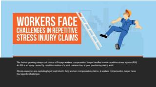 Workers Face Challenges In Repetitive Stress Injury Claims