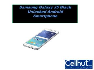 Samsung Galaxy J5 Black Unlocked Android Smartphone