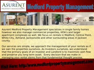 Medford Property Management