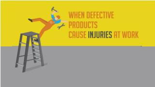 When Defective Products Cause Injuries at Work