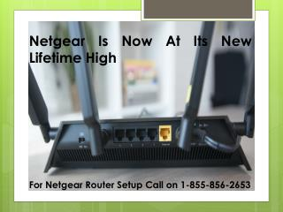 Netgear Is Now At Its New Lifetime High