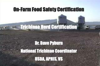 On-Farm Food Safety Certification